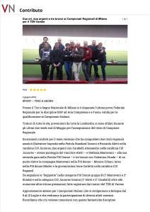 Due ori, due argenti e t...TSN Varese - VareseNews