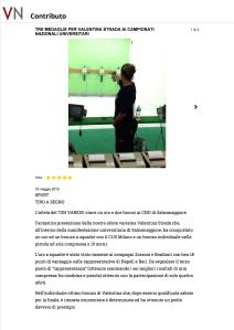 TRE MEDAGLIE PER VALENTI...IVERSITARI - VareseNews